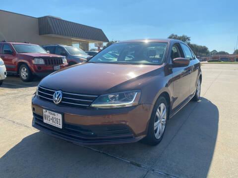 2017 Volkswagen Jetta for sale at Houston Auto Gallery in Katy TX