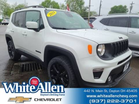 2019 Jeep Renegade for sale at WHITE-ALLEN CHEVROLET in Dayton OH