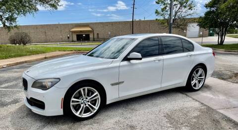 2012 BMW 7 Series for sale at EA Motorgroup in Austin TX