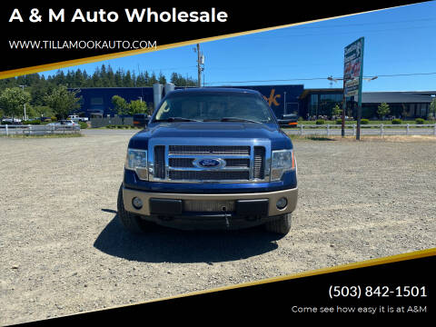 2011 Ford F-150 for sale at A & M Auto Wholesale in Tillamook OR