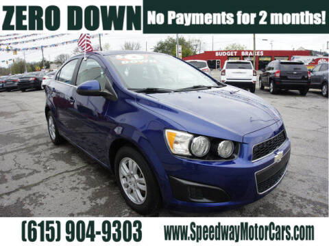 2014 Chevrolet Sonic for sale at Speedway Motors in Murfreesboro TN