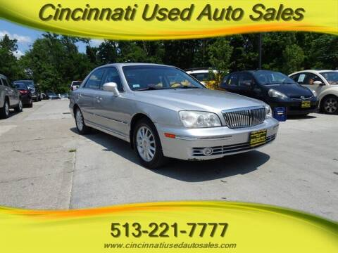 2004 Hyundai XG350 for sale at Cincinnati Used Auto Sales in Cincinnati OH