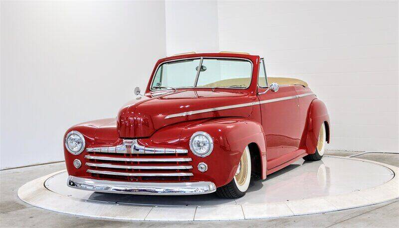 1946 Ford Super De Luxe Convertible for sale at Mershon's World Of Cars Inc in Springfield OH