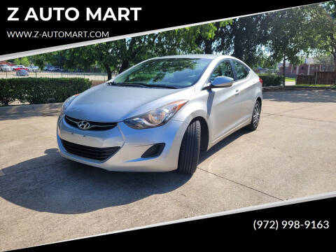 2011 Hyundai Elantra for sale at Z AUTO MART in Lewisville TX