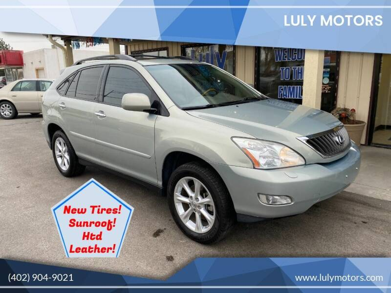 2009 Lexus RX 350 for sale at Luly Motors in Lincoln NE