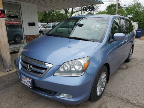 2007 Honda Odyssey for sale at New Wheels in Glendale Heights IL