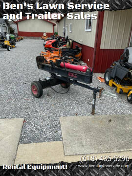 Champion 23 Ton Towable Log Splitter for sale at Ben's Lawn Service and Trailer Sales in Benton IL
