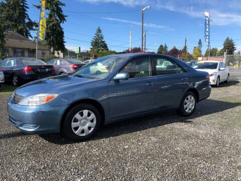2003 Toyota Camry for sale at A & V AUTO SALES LLC in Marysville WA
