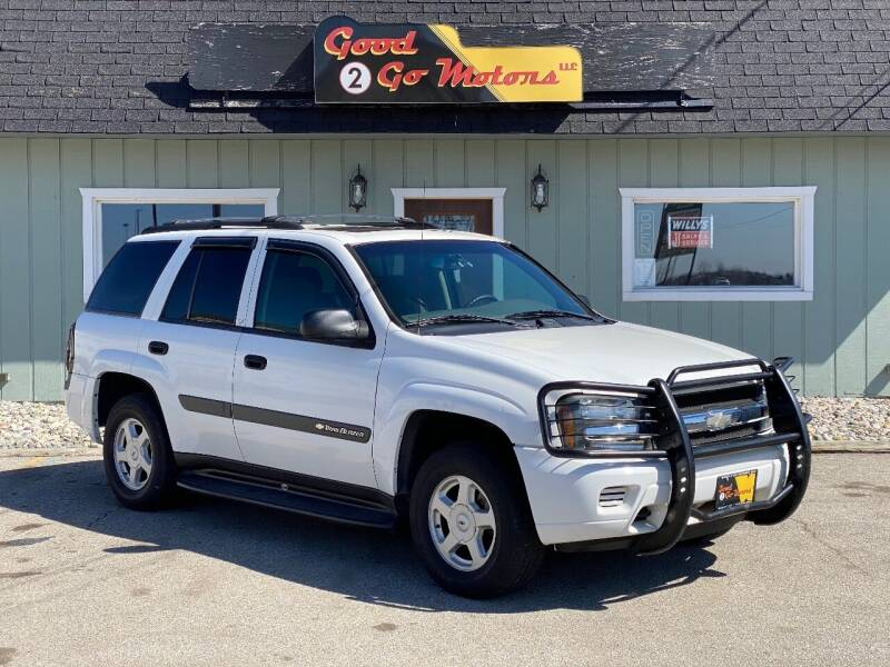 2003 Chevrolet TrailBlazer for sale at Good 2 Go Motors LLC in Adrian MI