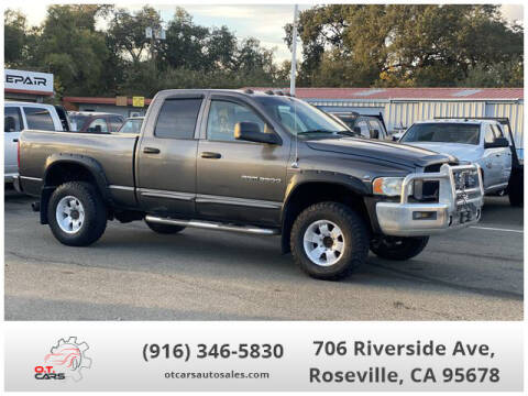 2003 Dodge Ram Pickup 3500 for sale at OT CARS AUTO SALES in Roseville CA