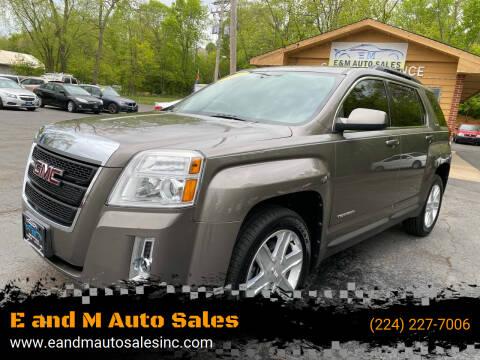2011 GMC Terrain for sale at E and M Auto Sales in Elgin IL