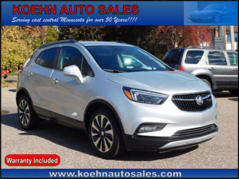 2019 Buick Encore for sale at Koehn Auto Sales in Lindstrom MN