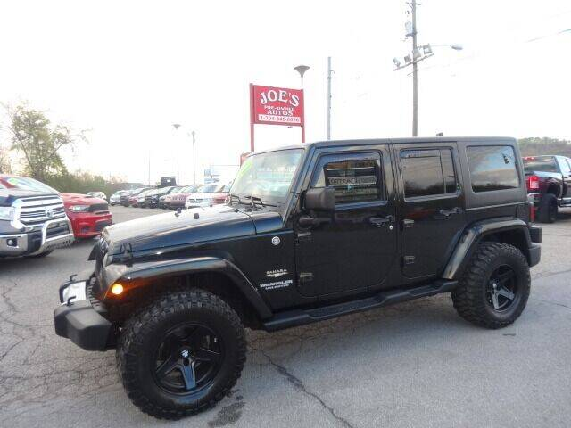 2012 Jeep Wrangler Unlimited for sale at Joe's Preowned Autos in Moundsville WV