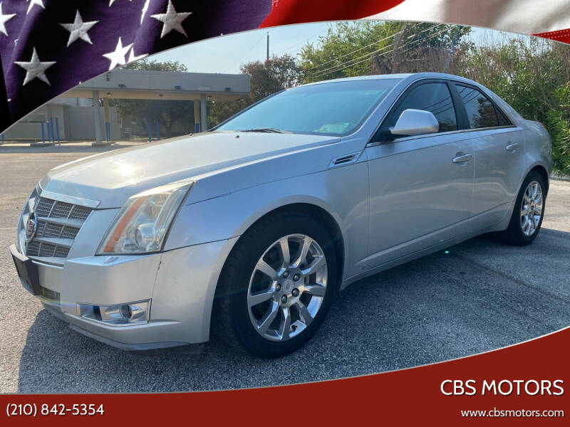 2009 Cadillac CTS for sale at CBS MOTORS in San Antonio TX