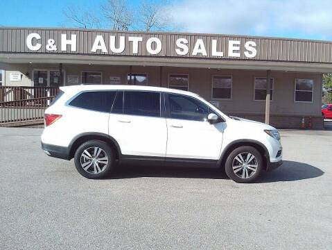 2017 Honda Pilot for sale at C & H AUTO SALES WITH RICARDO ZAMORA in Daleville AL