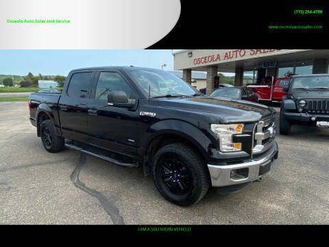 2015 Ford F-150 for sale at Osceola Auto Sales and Service in Osceola WI