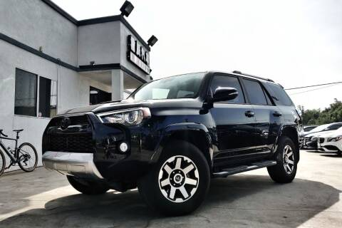 2018 Toyota 4Runner for sale at Fastrack Auto Inc in Rosemead CA