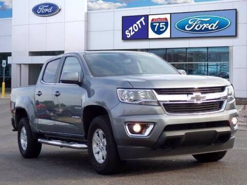 2020 Chevrolet Colorado for sale at Szott Ford in Holly MI