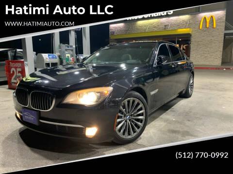 2011 BMW 7 Series for sale at Hatimi Auto LLC in Buda TX