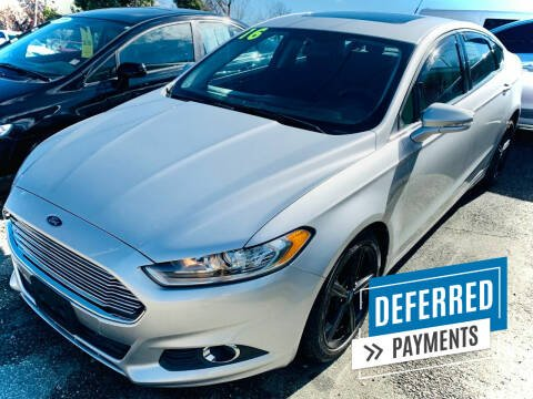 2016 Ford Fusion for sale at R-D AUTO IMPORTS, Inc in Charlotte NC