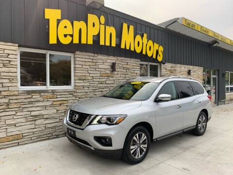 2019 Nissan Pathfinder for sale at TenPin Motors LLC in Fort Atkinson WI