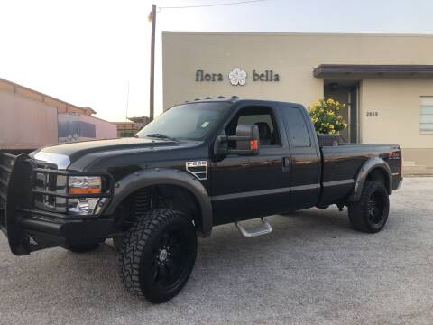 2008 Ford F-250 Super Duty for sale at Dynasty Auto in Dallas TX