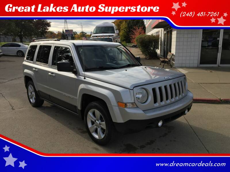 2012 Jeep Patriot for sale at Great Lakes Auto Superstore in Pontiac MI