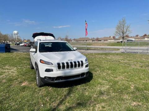 2014 Jeep Cherokee for sale at Cars Across America in Republic MO