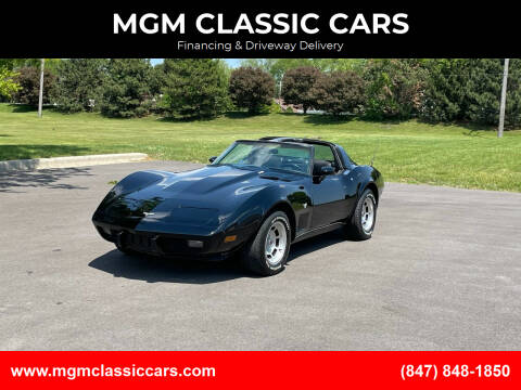 1979 Chevrolet Corvette for sale at MGM CLASSIC CARS in Addison IL