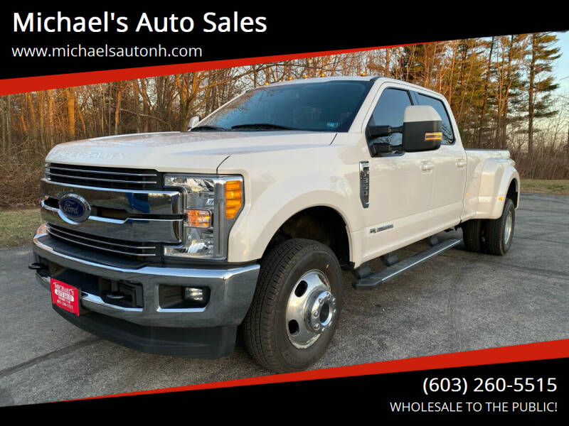 2017 Ford F-350 Super Duty for sale at Michael's Auto Sales in Derry NH