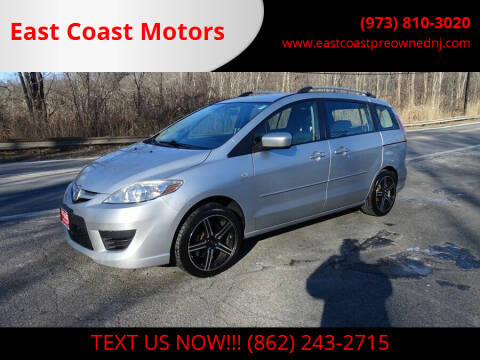 2009 Mazda MAZDA5 for sale at East Coast Motors in Lake Hopatcong NJ