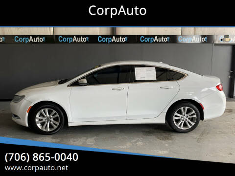 2015 Chrysler 200 for sale at CorpAuto in Cleveland GA