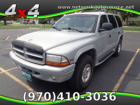 1999 Dodge Durango for sale at Network Auto Source in Loveland CO