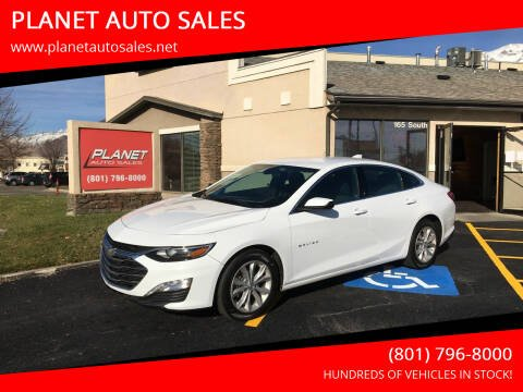 2020 Chevrolet Malibu for sale at PLANET AUTO SALES in Lindon UT