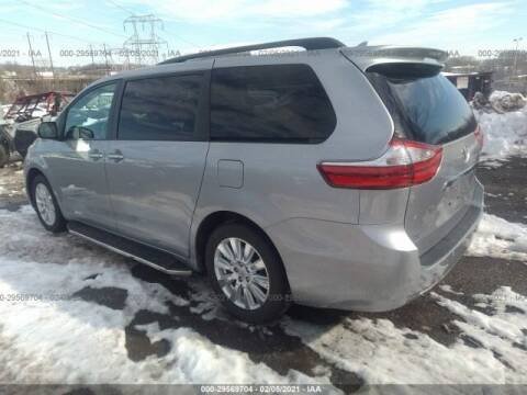 2017 Toyota Sienna for sale at One Stop Auto Sales, Collision & Service Center in Somerset PA