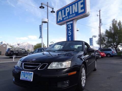 2005 Saab 9-3 for sale at Alpine Auto Sales in Salt Lake City UT