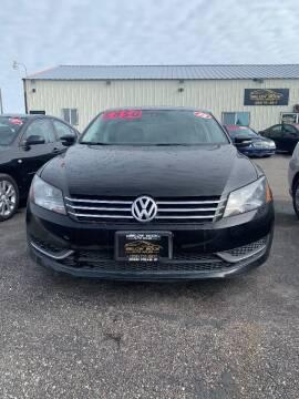 2013 Volkswagen Passat for sale at BELOW BOOK AUTO SALES in Idaho Falls ID