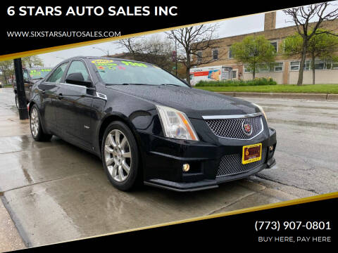 2009 Cadillac CTS for sale at 6 STARS AUTO SALES INC in Chicago IL