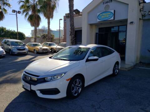2018 Honda Civic for sale at In-House Auto Finance in Hawthorne CA