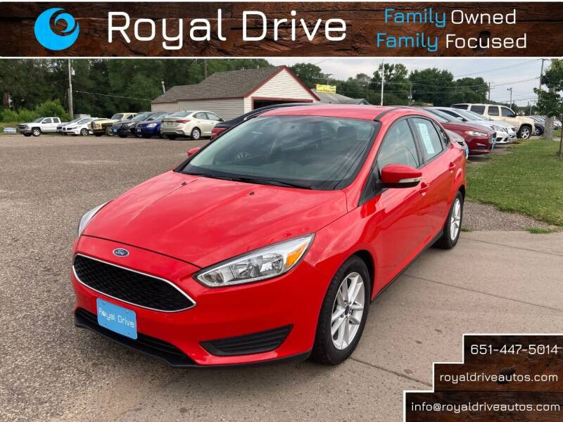 2016 Ford Focus for sale at Royal Drive in Newport MN