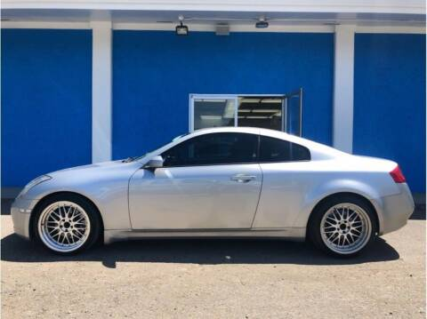 2005 Infiniti G35 for sale at Khodas Cars in Gilroy CA