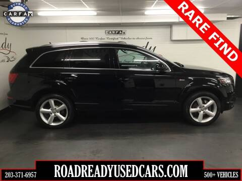 2015 Audi Q7 for sale at Road Ready Used Cars in Ansonia CT