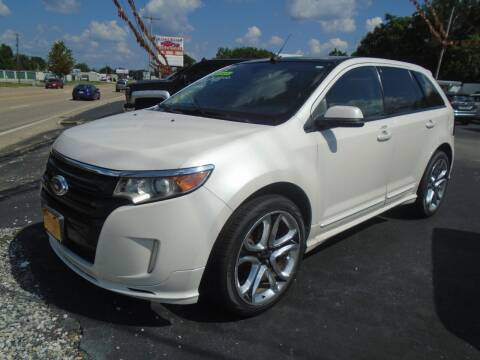 2012 Ford Edge for sale at River City Auto Sales in Cottage Hills IL