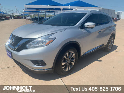 2017 Nissan Murano for sale at JOHN HOLT AUTO GROUP, INC. in Chickasha OK