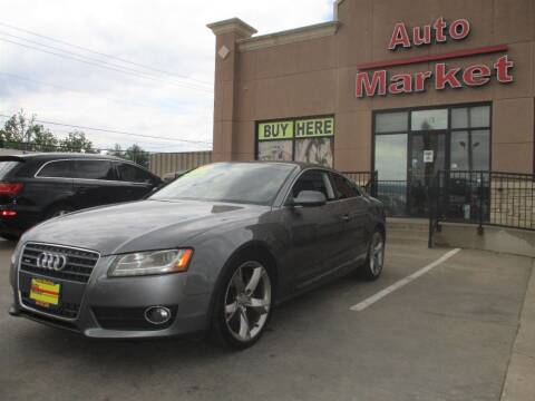 2012 Audi A5 for sale at Auto Market in Oklahoma City OK