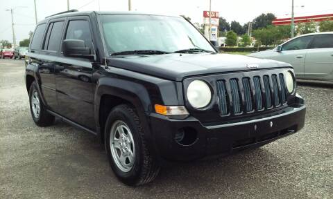 2008 Jeep Patriot for sale at Pinellas Auto Brokers in Saint Petersburg FL
