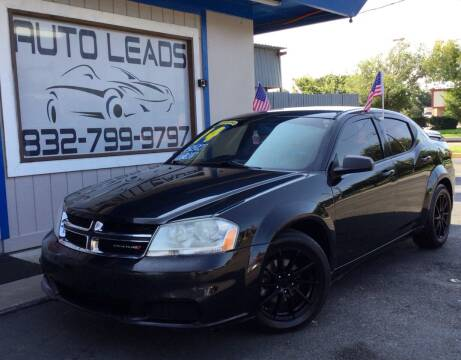 2014 Dodge Avenger for sale at AUTO LEADS in Pasadena TX