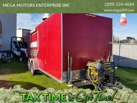 2010 C & W TRAILERS 7-18-3.5VT-2 Food Trailer for sale at MEGA MOTORS ENTERPRISE INC in Modesto CA