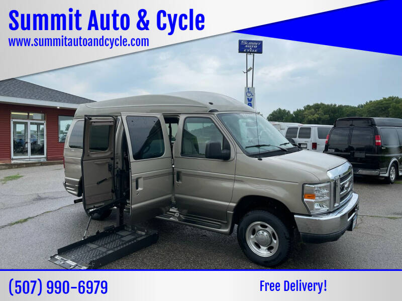 2012 Ford E-Series Cargo for sale at Summit Auto & Cycle in Zumbrota MN