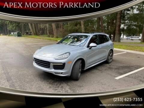 2016 Porsche Cayenne for sale at Apex Motors Parkland in Tacoma WA